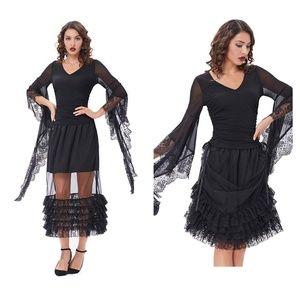 Dresses & Skirts - Steampunk Gothic Victorian Adjustable Skirt L